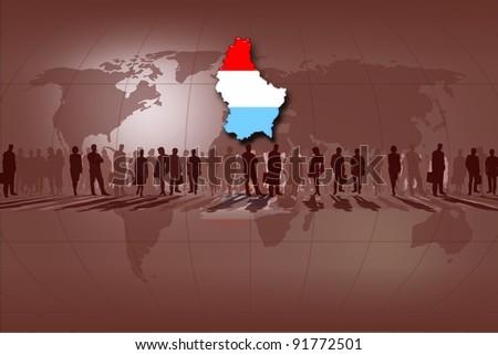 European Union countries: Netherlands - stock photo