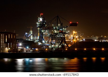 Europoort Rotterdam - stock photo