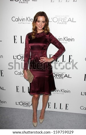 """Eva Amurri Martino at the Elle 20th Annual """"Women In Hollywood"""" Event, Four Seasons Hotel, Beverly Hills, CA 10-21-13 - stock photo"""
