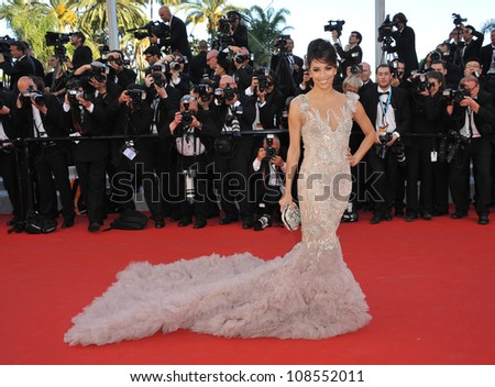 Eva Longoria at the premiere of Moonrise Kingdom - the gala opening of the 65th Festival de Cannes. May 16, 2012  Cannes, France Picture: Paul Smith / Featureflash