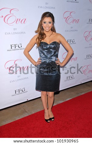 "Eva Longoria Parker at the Eva Longoria Parker Fragrance Launch Party For ""Eva,"" Beso, Hollywood, CA. 04-27-10"