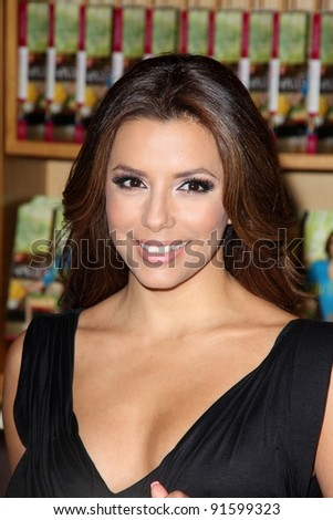 "Eva Longoria Signs Copies Of Her New Cookbook ""Eva's Kitchen,"" Williams Sonoma Home, Beverly Hills, CA. 05-06-11 - stock photo"
