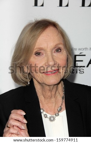 """Eva Marie Saint at the Elle 20th Annual """"Women In Hollywood"""" Event, Four Seasons Hotel, Beverly Hills, CA 10-21-13 - stock photo"""