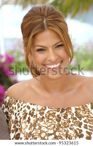 "Eva Mendes at photocall for her new movie ""We Own the Night"" at the 60th Annual International Film Festival de Cannes. May 25, 2007  Cannes, France.  2007 Paul Smith / Featureflash - stock photo"