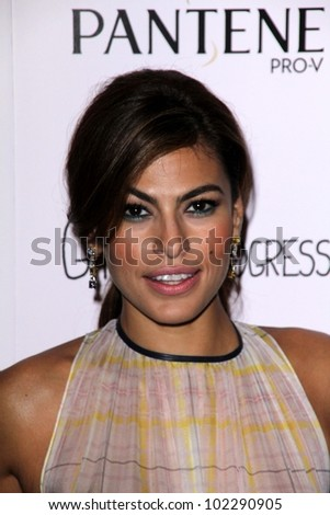 "Eva Mendes at the ""Girl In Progress"" Special L.A. Screening, DGA, Los Angeles, CA 05-02-12"