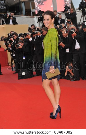 "Evangeline Lilly at the premiere of Woody Allen's ""You Will Meet A Tall Dark Stranger"" at the 63rd Festival de Cannes. May 15, 2010  Cannes, France Picture: Paul Smith / Featureflash - stock photo"