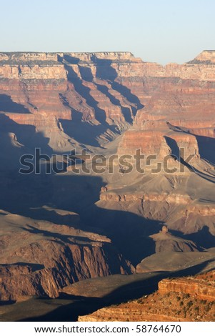 Evening in Grand Canyon - Arizona USA