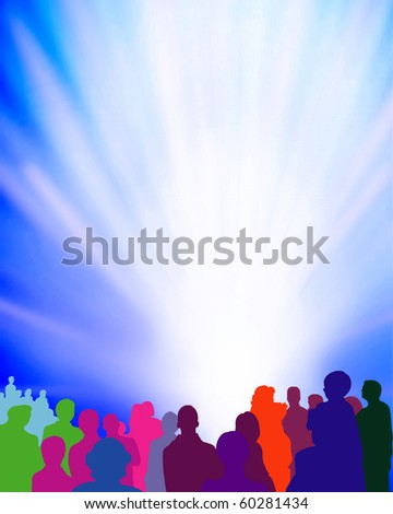 event-background-illustration - stock photo