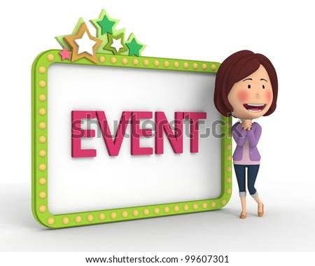Event Notification(2) - stock photo