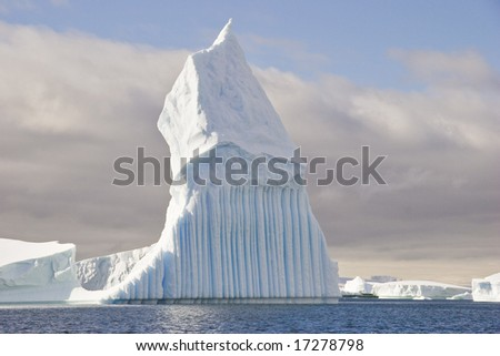 Every iceberg is a different shape - stock photo