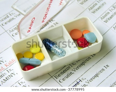 everyday portion of tablets