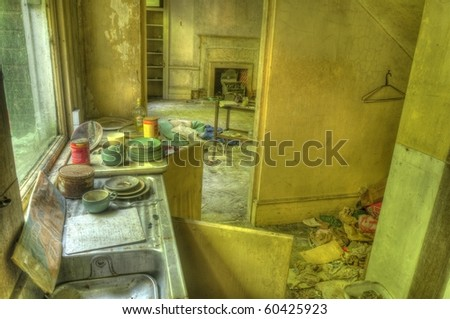 Everything but the Kitchen Sink - stock photo