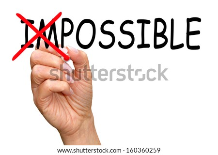 Everything is Possible - stock photo