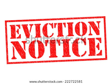 Eviction Notice Stock Images, Royalty-Free Images & Vectors