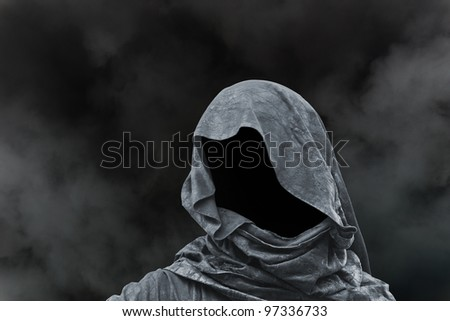 Evil magician death concept - stock photo