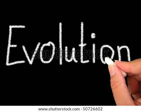 evolution - stock photo