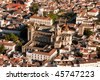 Evora Cathedral, Portugal - stock photo