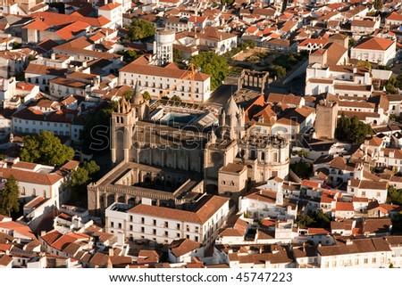 Evora Cathedral, Portugal - stock photo