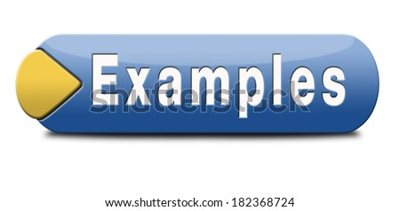 example lead by examples stock illustration 182368724 shutterstock