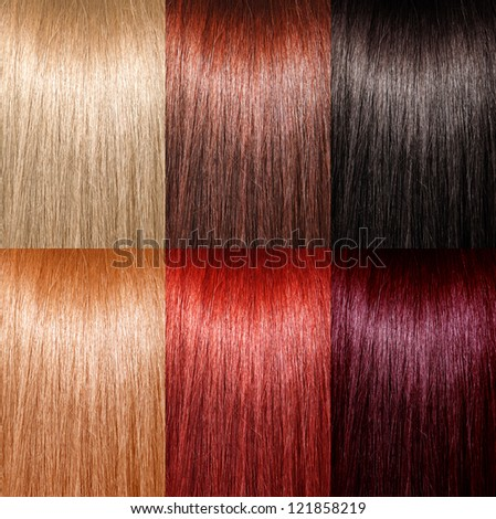 Different Colors Of Red Hair Different Shades Of Brown