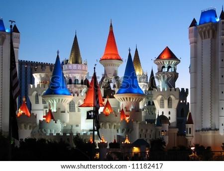 Excalibur Castle - stock photo