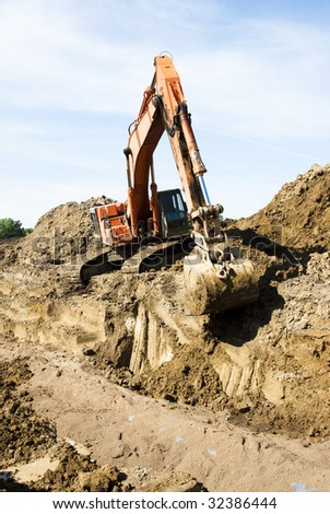excavation at the Louis & Clark Regional Water System pipeline construction site in South Dakota