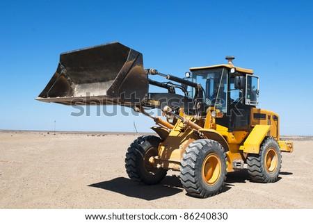 excavation equipment - stock photo