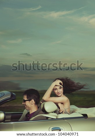 Exciting journey - stock photo