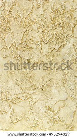 Exclusive collection of background textures decorative plaster for walls. For all types and styles of interior design. Background texture of a matt structure with a warm tint. Abstract raised pattern