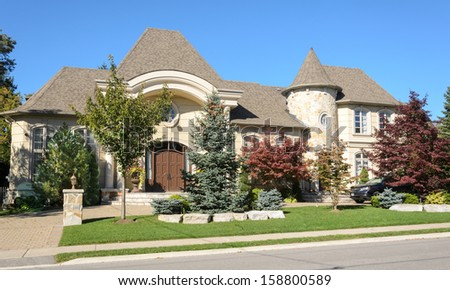 Exclusive home  - stock photo