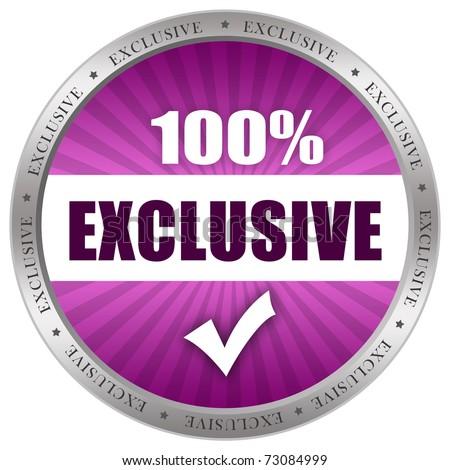 Exclusive Icon Exclusive Icon Stock I...