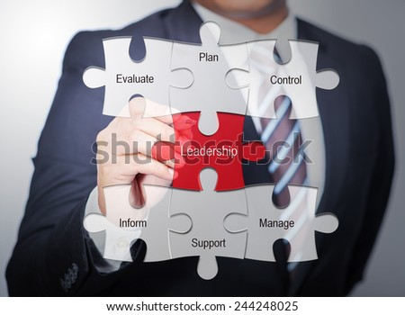 Executive and leadership concept - stock photo