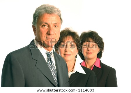 executive business team - stock photo