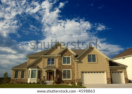 Executive House in the Morning - stock photo