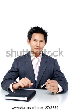 Executive male - stock photo