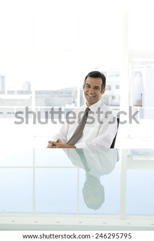 Executive man - stock photo