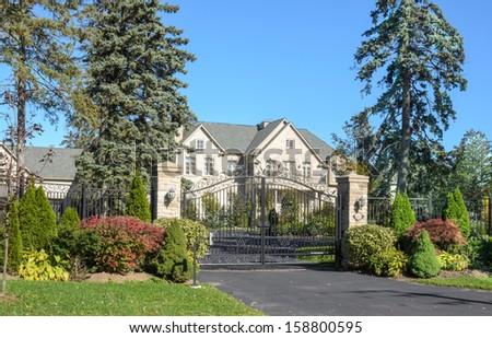 Executive Mansion - stock photo