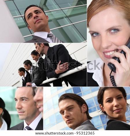 Executive Portraits - stock photo