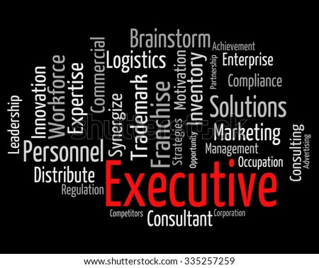 Executive Word Meaning Senior Manager And Md