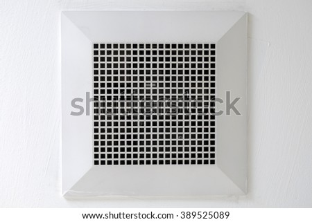 Exhaust fan on top in bathroom. Bathroom Fan Stock Photos  Royalty Free Images   Vectors