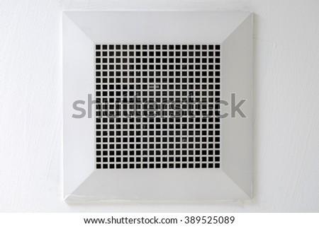 Exhaust fan on top in bathroom. Bathroom Fan Stock Photos  Royalty Free Images   Vectors