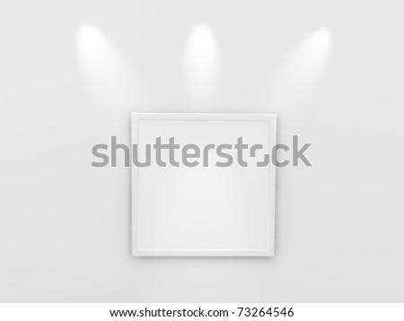 exhibition concept - stock photo