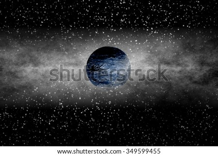 Exoplanet: Alien  Evolution - stock photo