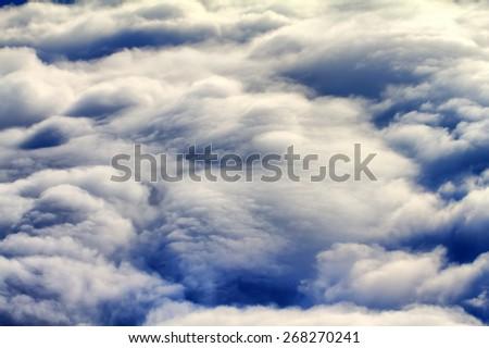 exorbitant heavenly view - stock photo