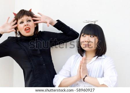 Exorcism - stock photo