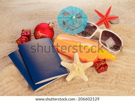 Exotic new year Holiday - stock photo