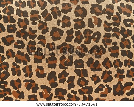 Exotic safari style decorated background close up. More of this motif & more backgrounds in my port. - stock photo