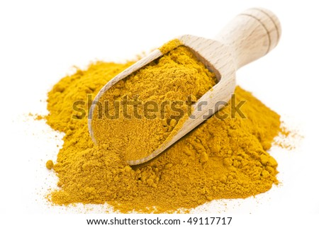 Exotically Curry Powder - stock photo