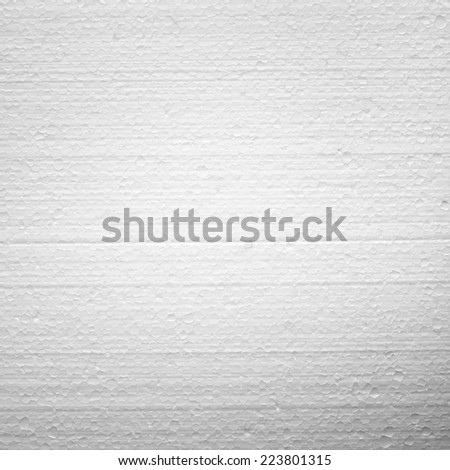Expanded Polystyrene (Foam Plastic) Texture - stock photo