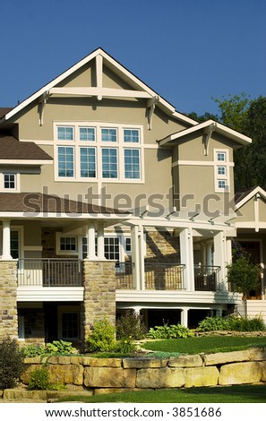 Expensive House - stock photo